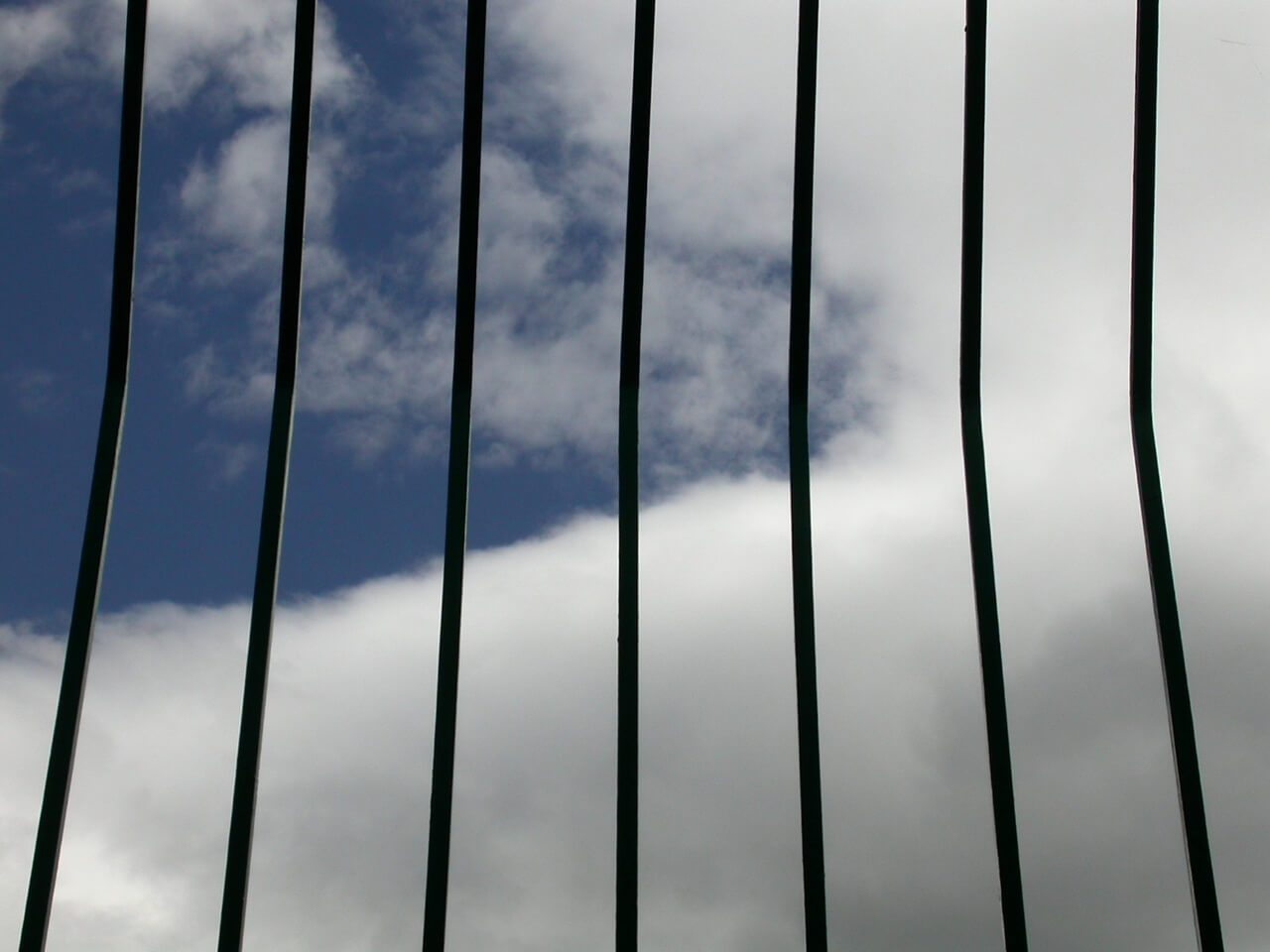 clouds and bars