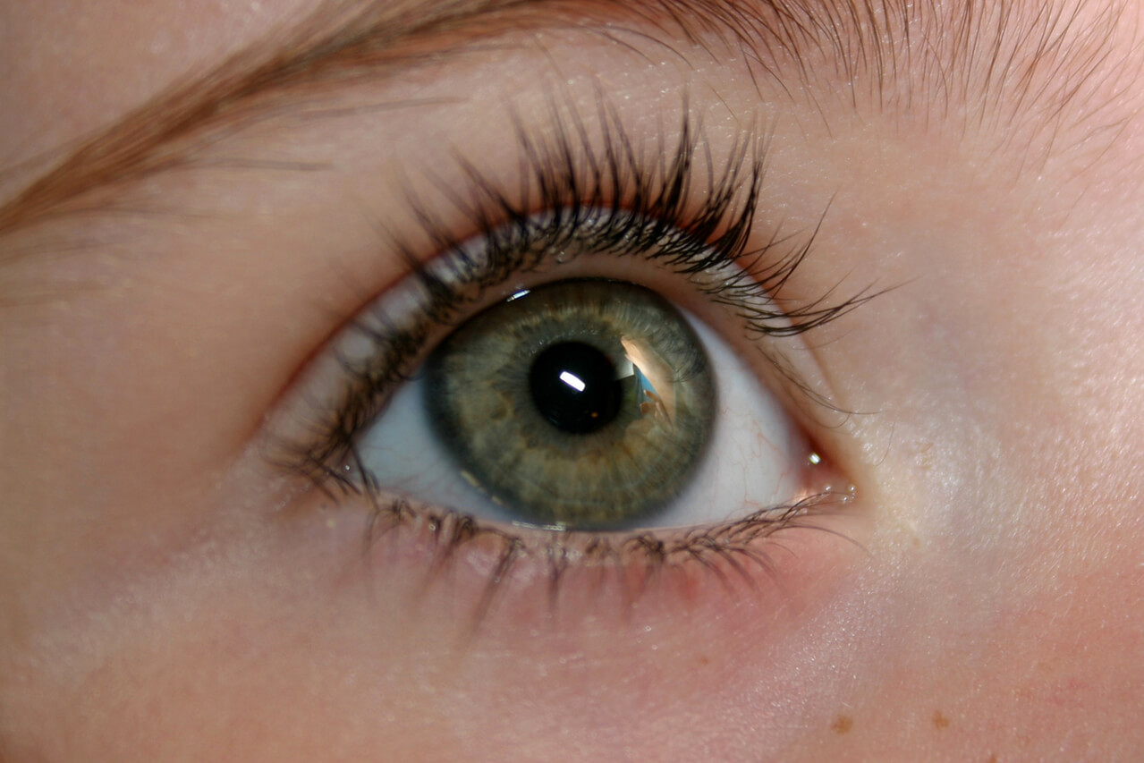 Image of a child's eye